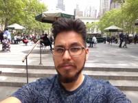 Daylight selfie - HDR: off - Blackberry Keyone review