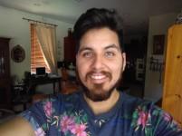 Indoor selfie 2 - HDR: Auto - Blackberry Keyone review