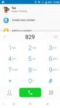 Dialer and dedicated Contacts app, for some reason - Doogee Mix review