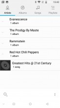 Music Player and equalizer - Doogee Mix review