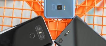 LG G6 vs. Galaxy S8 vs. Xperia XZ Premium: Three's a company