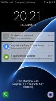 Galaxy S7: Lockscreen - Galaxy A5 2016 vs. Galaxy S7