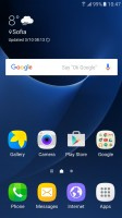 Galaxy S7: Homescreen - Galaxy A5 2016 vs. Galaxy S7