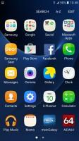 Galaxy S7: App drawer - Galaxy A5 2016 vs. Galaxy S7