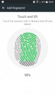scanning finger - HTC U11 review