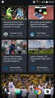 Scrolling BlinkFeed - HTC U11 review