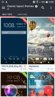 Choosing a classic layout - HTC U11 review