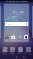 Home screen menu - Huawei Honor 6x review