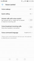 Voice control - Honor 8 Pro review