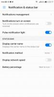 Status bar tweaks - Honor 9 review