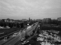 20MP monochrome dusk sample - Huawei Mate 9 Pro review
