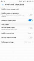 Notification permissions - Huawei Mate 9 Pro review