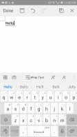 WPS office - Huawei Mate 9 Pro review