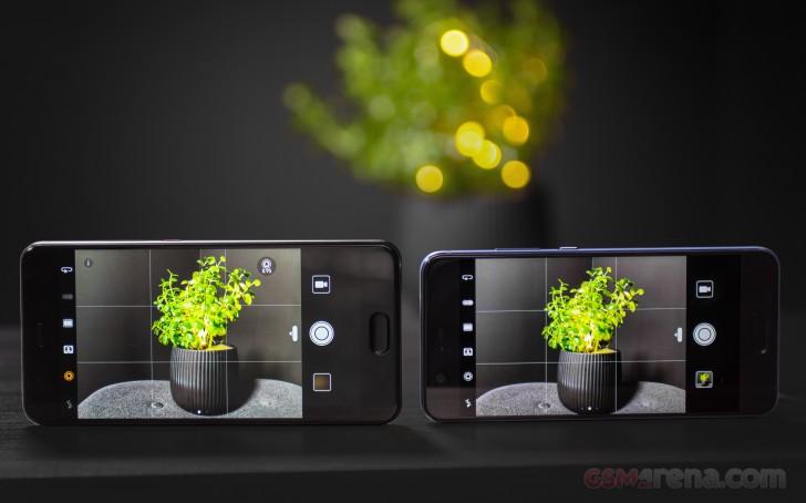 Huawei P10 Plus vs P10 low-light test