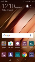 No app drawer by default - Huawei P10 Plus review