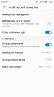 Status bar tweaks - Huawei P10 Plus review