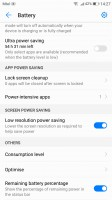 Power manager - Huawei P10 Plus review