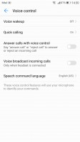Voice control - Huawei P10 Plus review