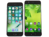 Apple iPhone 7 next to the Huawei P10 - Huawei P10 review
