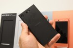 Xperia XZ1 Compact flush back - f/13.0, ISO 1000, 1/60s - Ifa 2017 Xperia Xz1 Compact Hands On review