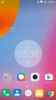 Clean launcher home page - Lenovo K6 Note review