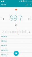 FM radio app with broadcast recording, without RDS - Lenovo K6 Note review