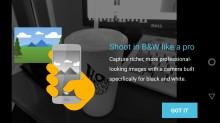 Black & White mode - Lenovo Moto Z2 Force review