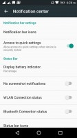The rich notification settings - Lenovo P2 review