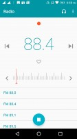 FM radio app with broadcast recording, without RDS - Lenovo P2 review