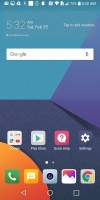 Homescreen - LG G6 Hands-on review