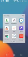 folder view - LG G6 Hands-on review