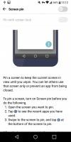 Screen pinning - LG G6 review