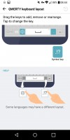 Customizing the keys - LG G6 review