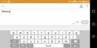 Landscape keyboard - LG G6 review