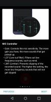 HD Audio recorder: Walkthrough - LG G6 review