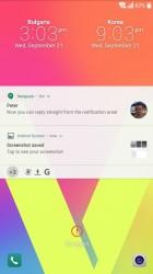 LG lockscreen - LG V20 vs. Huawei Mate 9 review