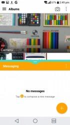 Multi-window apps - LG V20 vs. Huawei Mate 9 review