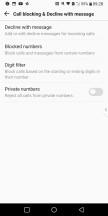 Blocking calls - LG V30 review