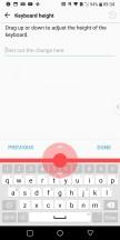 Portrait keyboard: Smallest setting - LG V30 review
