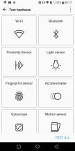 Sensor check-up - LG V30 review