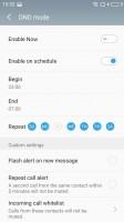 DND mode - Meizu M5s review