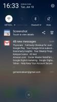Notification area - Meizu Pro 6 Plus review