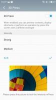 3D Press options - Meizu Pro 6 Plus review