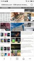The web browser - Meizu Pro 6 Plus review