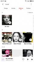 Browsing albums - Meizu Pro 7 Plus review
