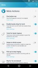 Moto Actions - Moto G5s Plus review