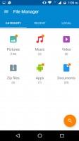 File manager - Motorola Moto M review