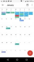 Google Calendar - Motorola Moto M review
