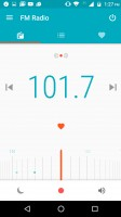 FM Radio app receives the sound, not the data - Motorola Moto M review