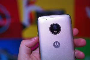 Metal body with a 12MP camera - Moto at MWC 2017